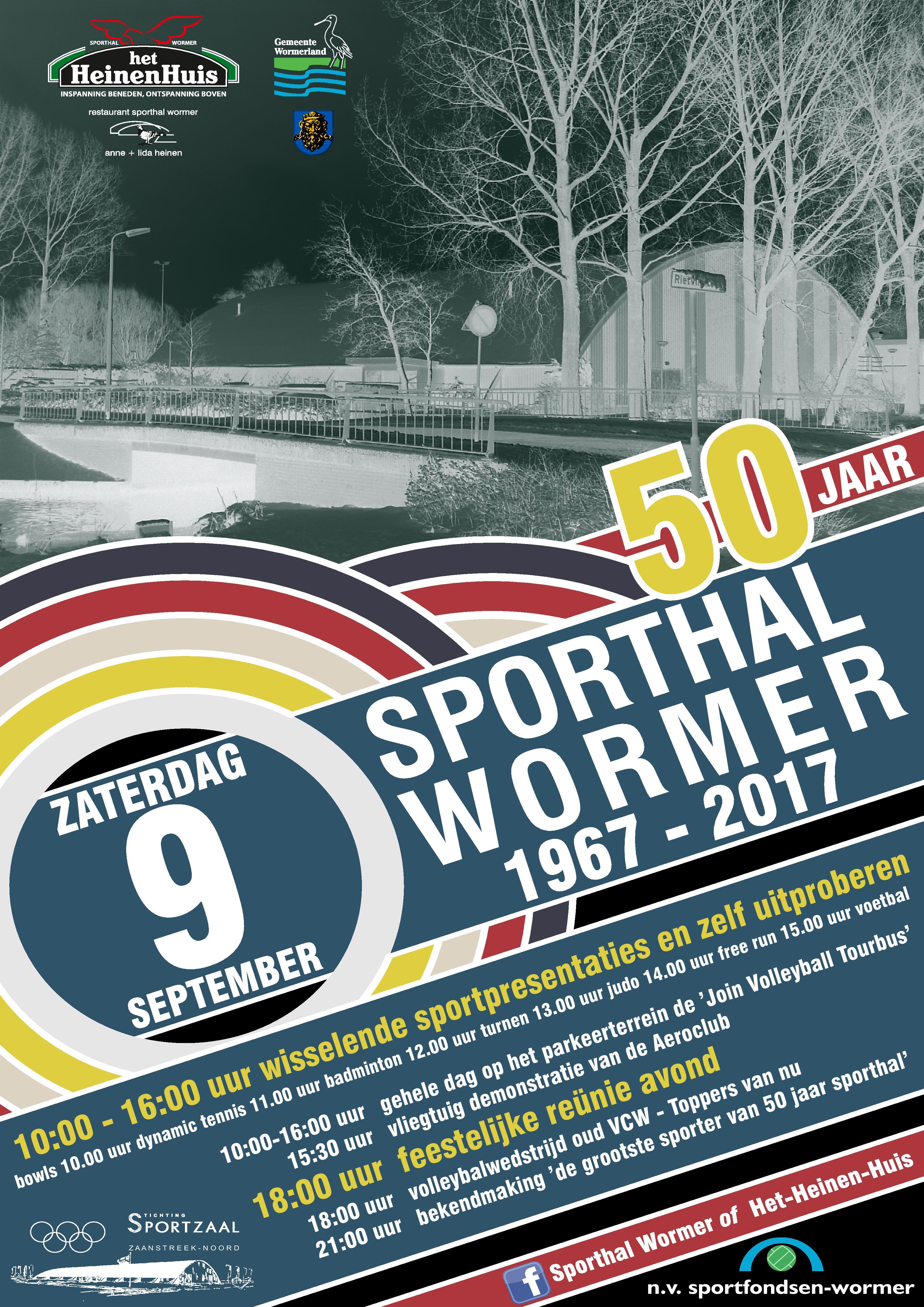 Jubileum Sporthal Wormer